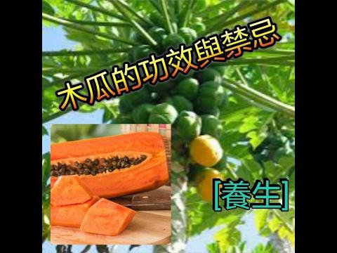 木瓜的功效與禁忌!還有美容養顏功效!