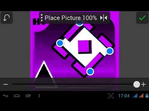 Tutorial #1   How To Make A Geometry Dash Icon (On Android Devices)