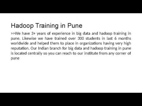 Big Data Hadoop Training in Pune(ETLHIVE)