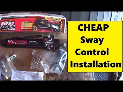 reese friction sway control installation instructions