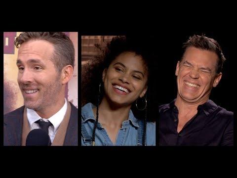 DEADPOOL 2 Interviews: Ryan Reynolds, Josh Brolin, Zazie Beetz, Julian Dennison and Deadpool