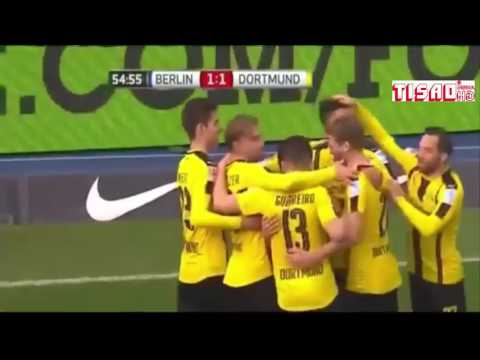 Download hertha berlin vs borossia dortmund 2 - 1    all Goals and highlight 11/03/2017
