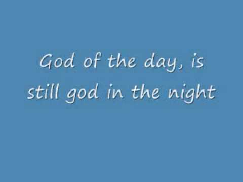 God on the mountian with lyrics