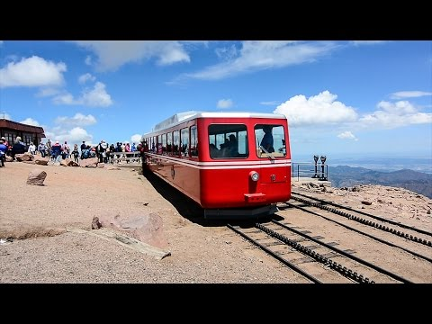 The Cog Railway To Pikes Peak Was Crazy!
