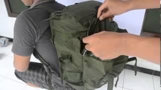 Tas ransel TNI Militer
