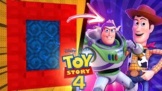 Minecraft How to Build a PORTAL TO TOY STORY 4!