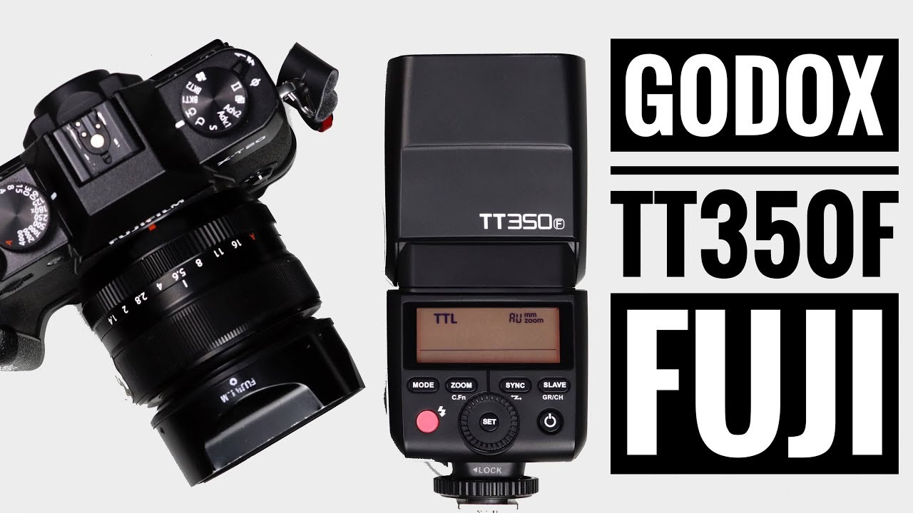 Godox TT350F | Best Mini Flash (HSS + TTL) for Fuji X Series