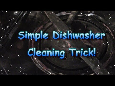 Simple Dishwasher Cleaning Trick
