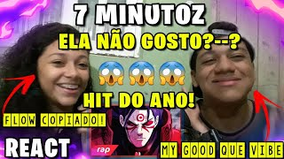 REACT - Rap do Hashirama (Naruto) - O PRIMEIRO HOKAGE | NERD HITS | 7 MINUTOZ😱❤🎶