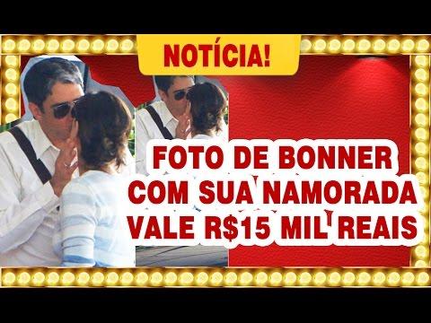 FOTO DE WILLIAM BONNER E SUA NAMORADA VALE R$ 15 MIL - NOTÍCIAS DOS FAMOSOS