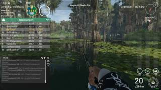 Fishing Planet Virtual Bass Open 5. Platz