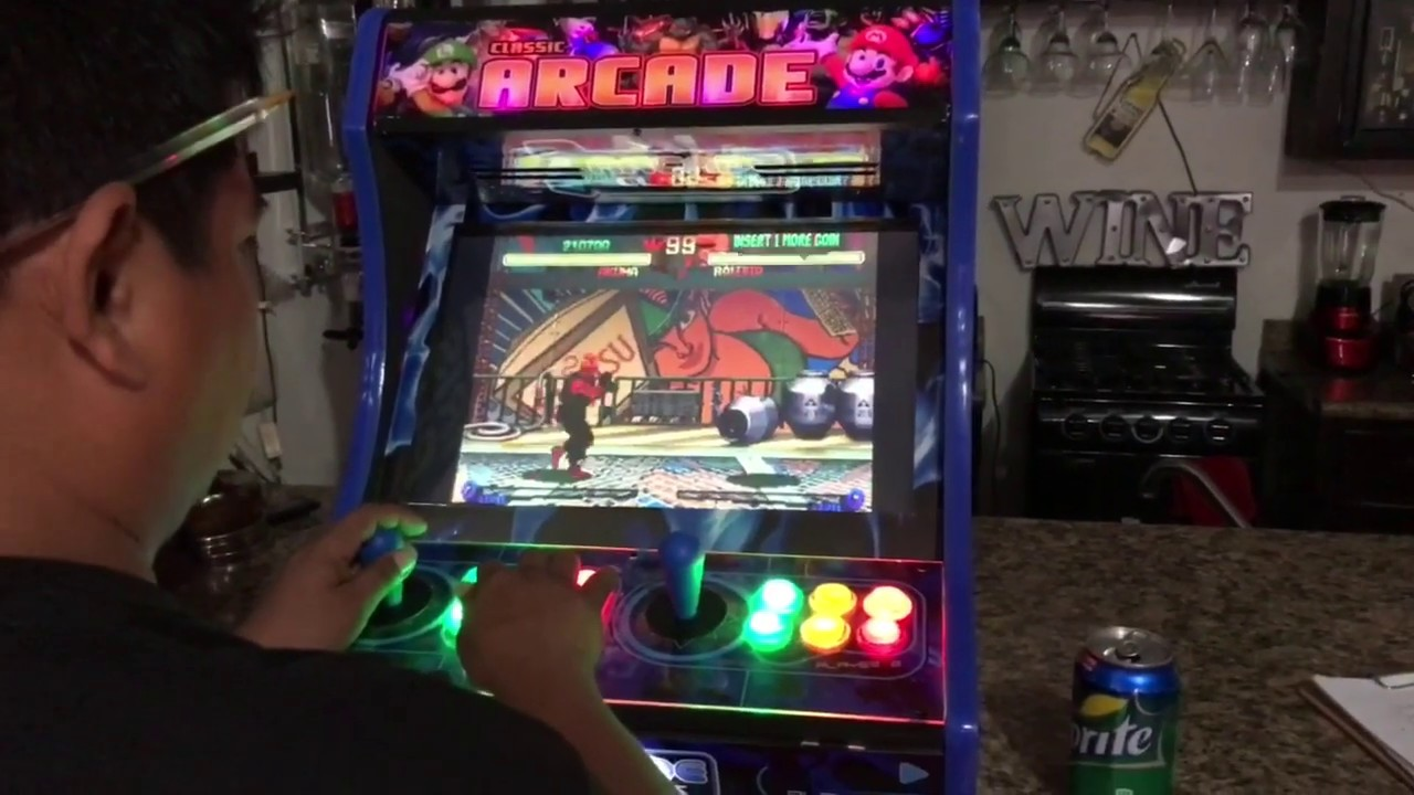 19 Arcade Classics Bartop Arcade With Hyperpie System Street