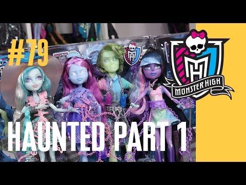 видео: Новые куклы Монстер Хай Вандала Киеми Портер Ривер (haunted) Школа Монстров монстр monster high