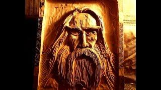 Проработка глаз. панно,резьба по дереву.Study eyes. panels, wood carving