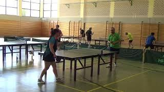 Canlas vs Koehler Heilsbronn 20190602 Bavarian Race TT Cup Table Tennis Stativ  2