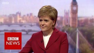 Nicola Sturgeon accuses Theresa May of 'dismissing' Scottish Brexit concerns  BBC News