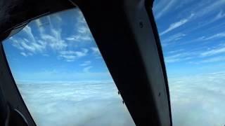 aterrizaje en Tijuana desde la vista del capitan, Boeing 777, AeroMexico