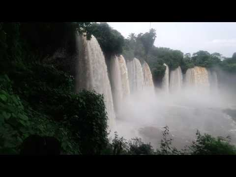Agbokim Water Fall in Cross River State