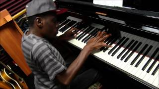 "Lil Greg Edwards ""Total Praise"" Grand Piano 2014"