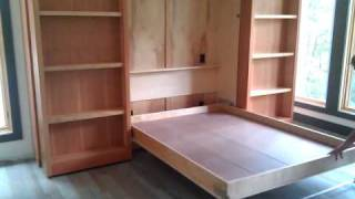 Hidden Murphy Bed Wall Unit