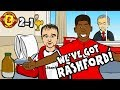 🎵WE'VE GOT RASHFORD!🎵 Man Utd vs Liverpool 2-1: THE SONG! (parody goals highlights)