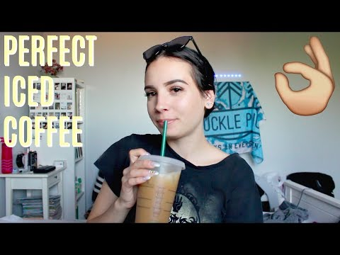How to Make The PERFECT Iced Coffee (vegan)