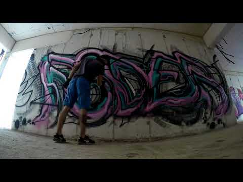 FAUESDER x TRAIN MY STYLE  GRAFFITI