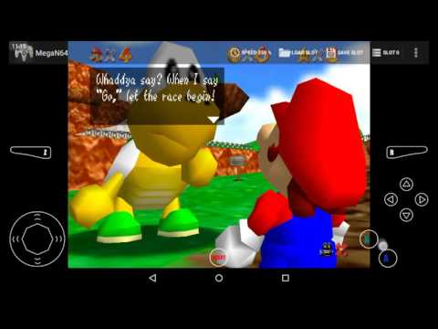 SM64 ON THE TABLET!!???