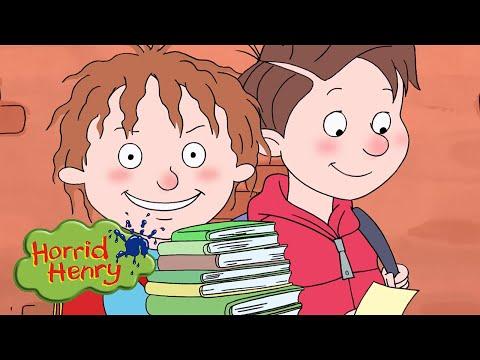 New Homework Business | Horrid Henry | Cartoons for Children