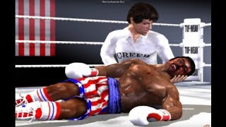 Rocky 2002 (Gamecube) Rocky IV vs Ivan Drago (Movie Mode)