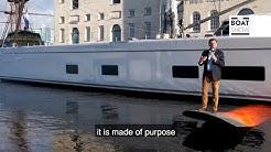 BALTIC 142 CANOVA - Sailing Superyacht Tour - The Boat Show