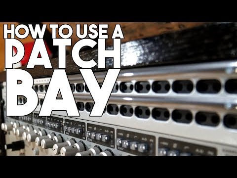 How to USE A PATCHBAY | Spectre Sound Studios TUTORIAL