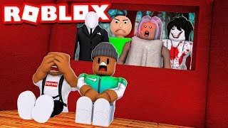 2 PLAYER HORROR TYCOON in Roblox!