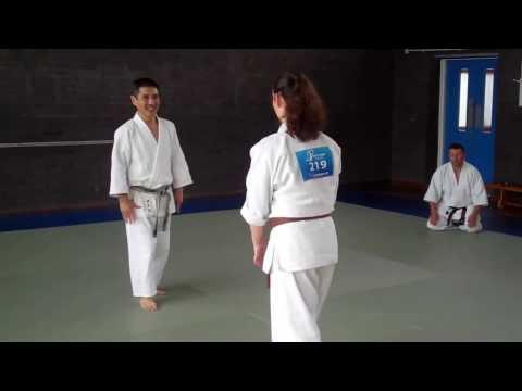 No 38 Inoue Yoshiomi Sensei at the British Aikido Association Summer School 2016