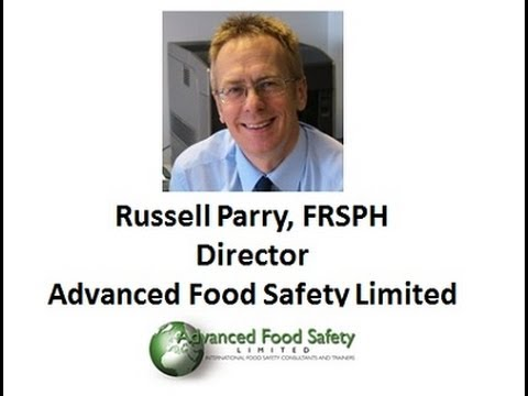 Learning to comply with BRC Standards with Russell Parry, FRSPH
