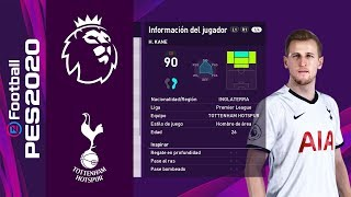 PES 2020 | Tottenham Players Faces & Ratings