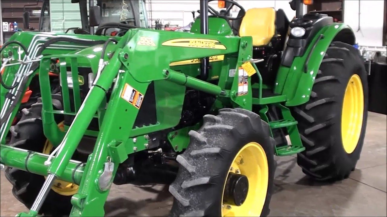 John Deere 5420 4x4 Tractor with ONLY 395 HOURS!!