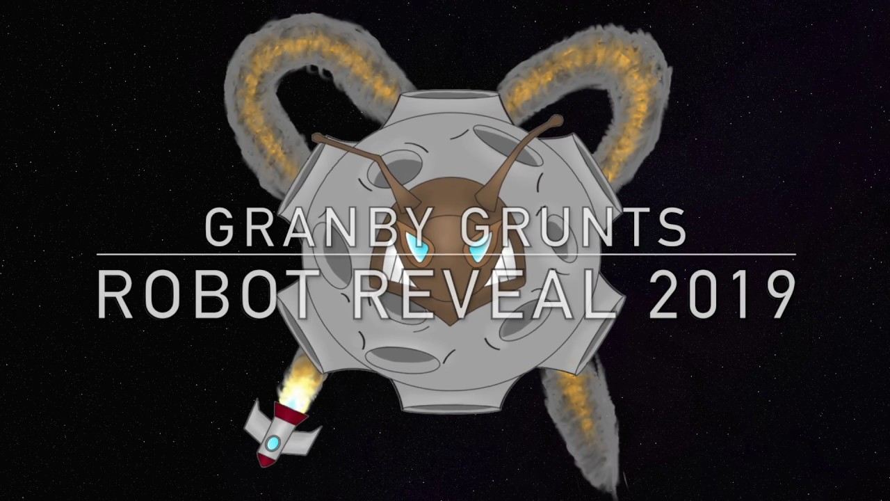 Team 3146 Granby GRUNTS | Destination: Deep Space | Robot Reveal