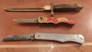 Обзор ножей времён СССР