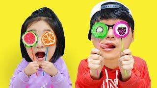 بولام تعلم الألوان مع القوافي الحضانة الحلوى والإصبع الأسرة