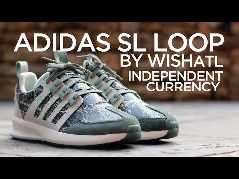 Closer Look  Wish x Adidas SL Loop -