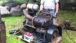 Bolinder Crude Engine, Råoljemotor 1