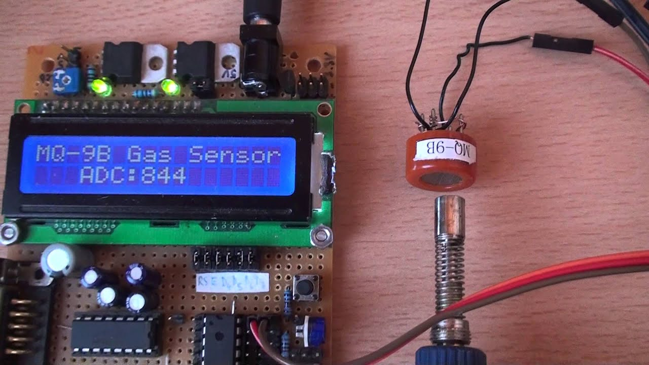 Mq 9 Combustible Gas Sensor By Radu Motisan Mq2 Smoke Circuit Built With An Arduino