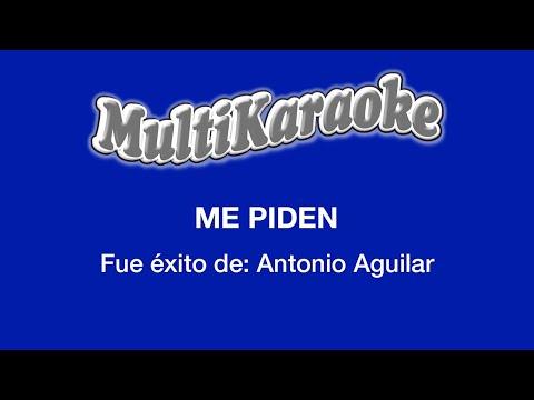 Me Piden - Multikaraoke