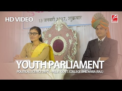 Youth Parliament | Political Science Department MLV College BHL. | Redcraft Motion Pictures