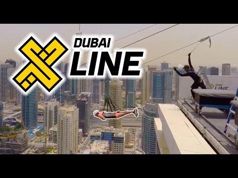 Dubai XLine Marina | ZipLine 170M
