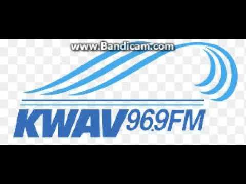 KWAV 96.9 Station ID November 28, 2017 5:02pm