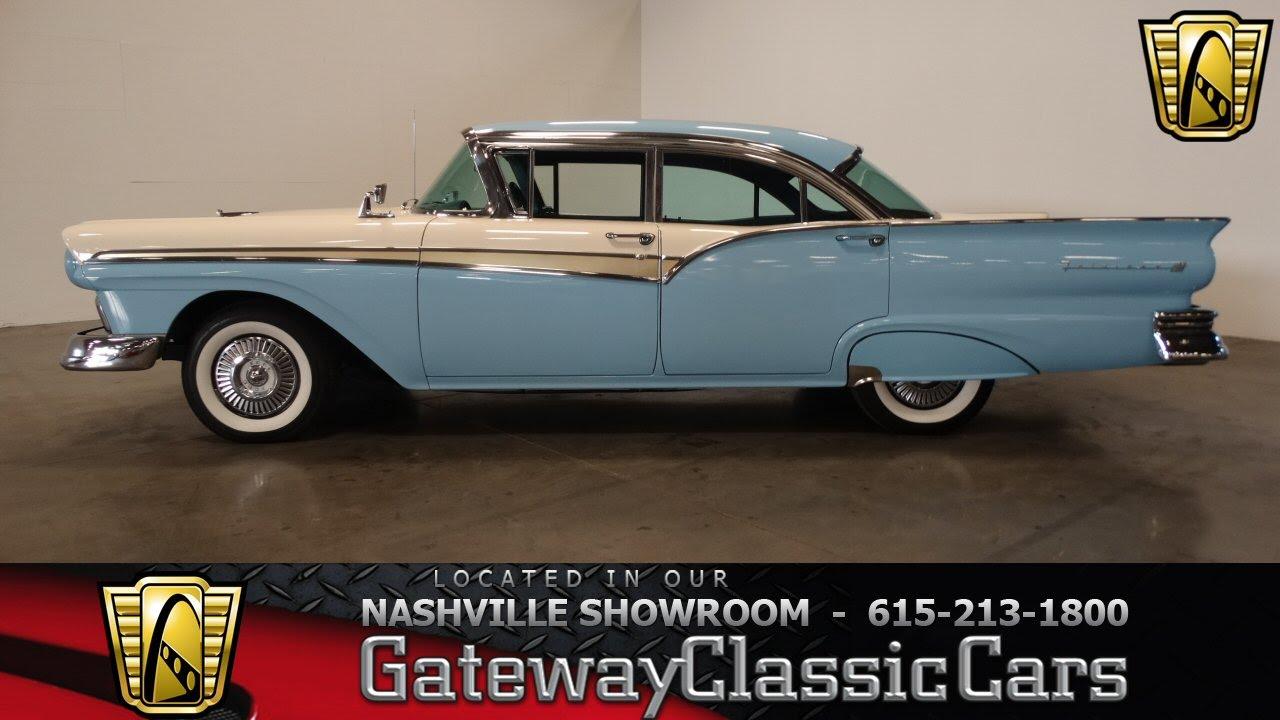 1957 ford fairlane 500 gateway classic cars nashville 172 youtube
