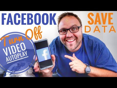 How to Turn Off Facebook Video Autoplay - Android App