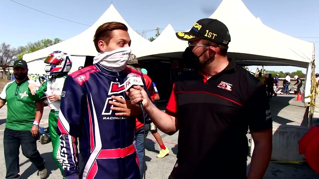 Entrevista Diego Pérez Fecha 2 Fórmula Karts